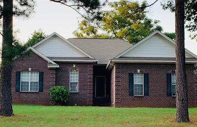 Wetumpka AL Single Family Home For Sale: $209,900