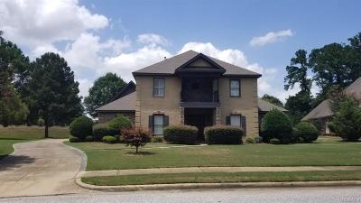 Montgomery Single Family Home For Sale: 7322 Brisbane Place