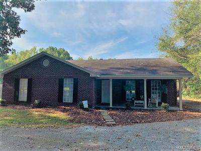 Wetumpka Single Family Home For Sale: 1786 Rifle Range Road