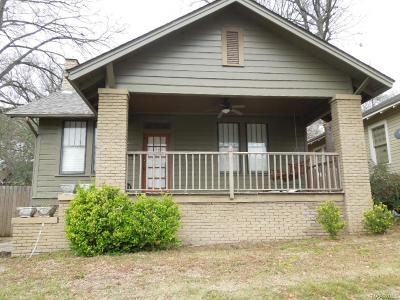 Montgomery Single Family Home For Sale: 323 Finley Avenue