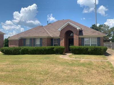 Prattville AL Single Family Home For Sale: $146,000