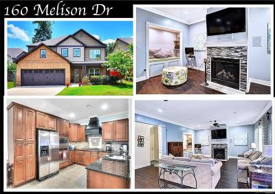 Pike Road Single Family Home For Sale: 160 Melison Drive