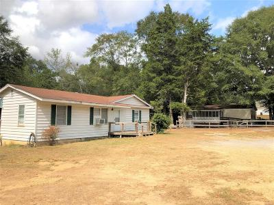 Deatsville Single Family Home For Sale: 3283 Hogan Road