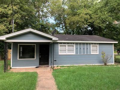 Montgomery Single Family Home For Sale: 3323 East Street