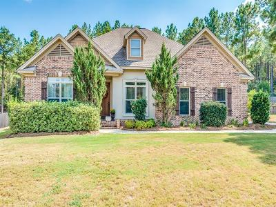 Wetumpka Single Family Home For Sale: 137 Southern Hollow Court