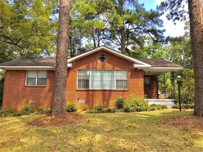 Montgomery Single Family Home For Sale: 3515 Pelzer Avenue