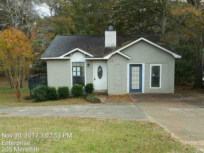 Enterprise Single Family Home For Sale: 205 Meredith Street
