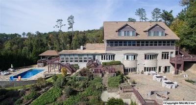 Guntersville Single Family Home For Sale: 3590 Buck Island Drive