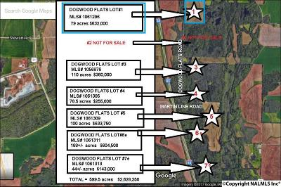 Tanner Residential Lots & Land For Sale: Dogwood Flats Road #1