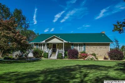 Guntersville Single Family Home For Sale: 5400 Georgia Mountain Road
