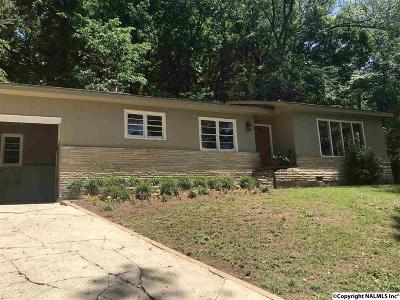Guntersville Single Family Home For Sale: 1209 Hillwood Drive