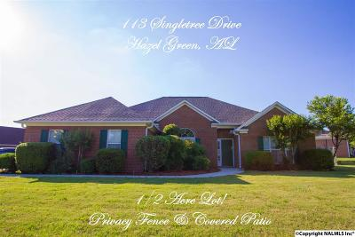 Hazel Green Single Family Home For Sale: 113 Singletree Drive