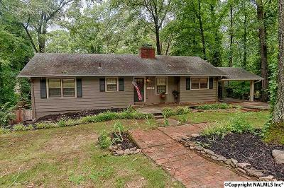 Guntersville Single Family Home For Sale: 1832 Forest Drive