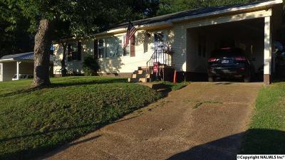 Guntersville Single Family Home For Sale: 1544 Circle Drive