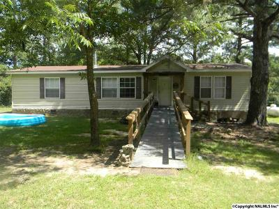 Somerville Mobile Home For Sale: 387 Cut Off Road