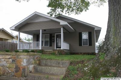 Guntersville Single Family Home For Sale: 1628 Gunter Avenue