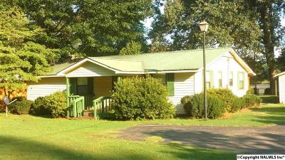 Guntersville Single Family Home For Sale: 1601 Point Of Pines