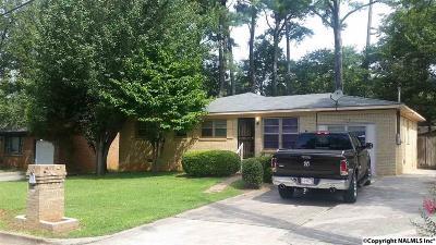 Huntsville Single Family Home For Sale: 4806 Blue Haven Drive
