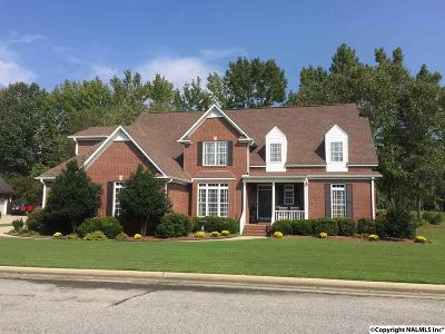 Hartselle Single Family Home For Sale: 1309 Spring Branch Drive