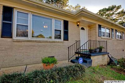 Huntsville Single Family Home For Sale: 2707 Hilltop Terrace