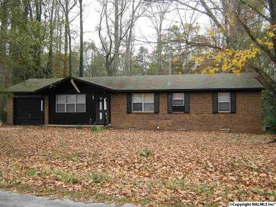 Albertville Single Family Home For Sale: 1120 Waylan Avenue