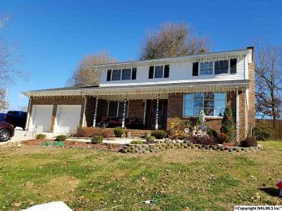 Guntersville Single Family Home For Sale: 6301 Spring Creek Drive