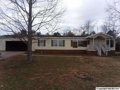 Meridianville Single Family Home For Sale: 1087 Steger Road
