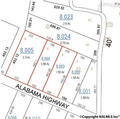 Mentone Residential Lots & Land For Sale: 3202 Alabama Highway 117