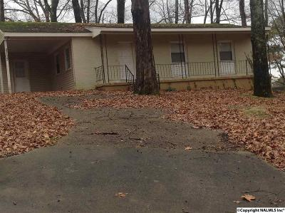 Huntsville AL Single Family Home For Sale: $45,000