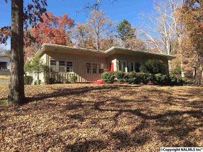 Fort Payne AL Single Family Home For Sale: $119,000