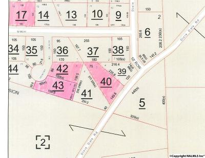 Albertville Residential Lots & Land For Sale: 001 Dixie Dale Road