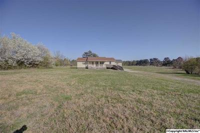 Madison County, Limestone County Single Family Home For Sale: 3155 Old Railroad Bed Road