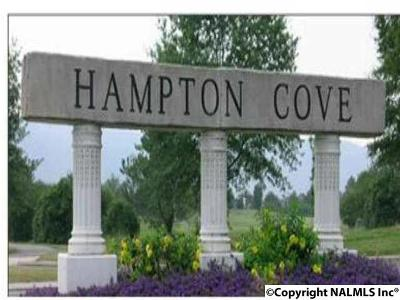 Ardmore, Hampton Cove Residential Lots & Land For Sale: 2708 Muir Woods Drive