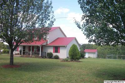 Cedar Bluff, Centre, Gaylesville, Leesburg, Mentone Single Family Home For Sale: 8145 County Road 44