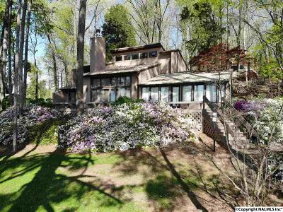 Guntersville Single Family Home For Sale: 190 Buck Island Point