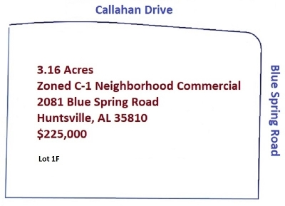 Huntsville AL Commercial Lots & Land For Sale: $225,000
