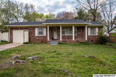 Huntsville AL Single Family Home For Sale: $0