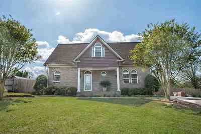 Single Family Home For Sale: 16470 Mahogany Drive