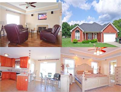 Meridianville Single Family Home For Sale: 105 Silkyscale Circle
