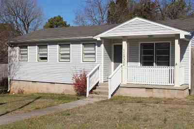 Huntsville AL Single Family Home For Sale: $114,900