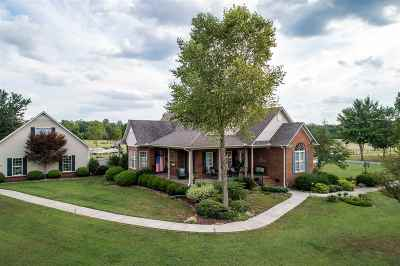 Hazel Green Single Family Home For Sale: 150 Border Line Road