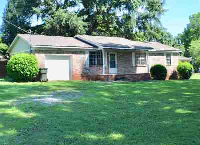 Brownsboro Single Family Home Contingent: 136 Jones Circle