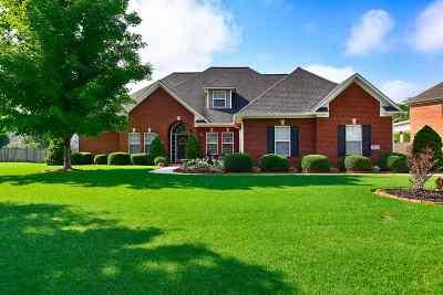 New Market Single Family Home For Sale: 168 Riverwalk Trail