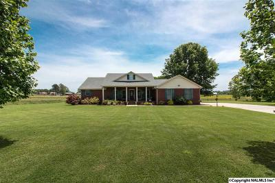 Limestone County, Madison County Single Family Home For Sale: 11980 New Cut Road