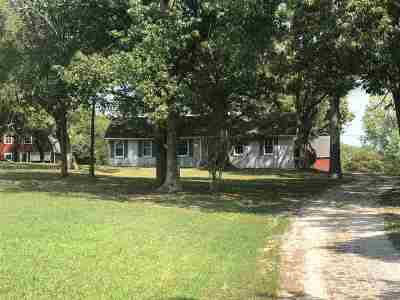 Single Family Home For Sale: 3504 Chapel Hill Road