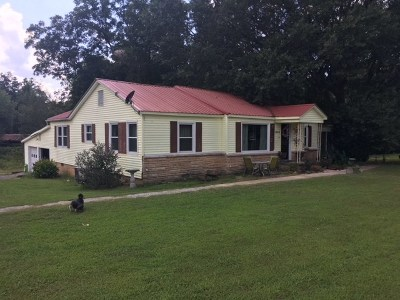 Marshall County, Jackson County Single Family Home For Sale: 1990 Eddy Scant City Road