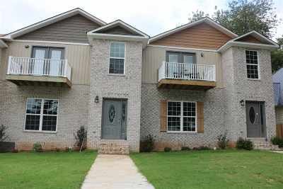 Guntersville Townhouse For Sale: 830 Blount Avenue