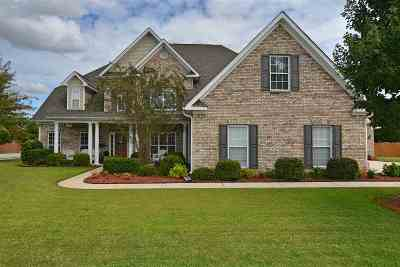 Hampton Cove Single Family Home For Sale: 3201 Mossy Rock Road