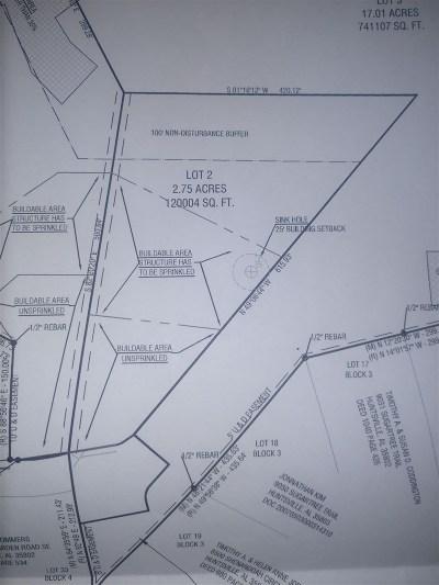 Huntsville Residential Lots & Land For Sale: 8031 Tea Garden Road