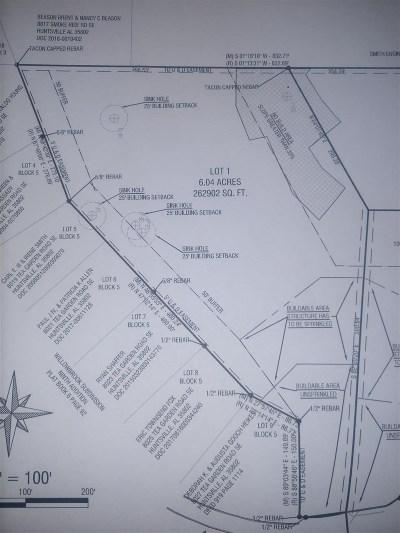 Huntsville Residential Lots & Land For Sale: 8029 Tea Garden Road